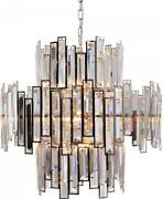 Chandelier Abstract 14-light Crystal Stainless Steel 40w