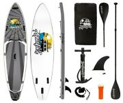 Aqualust 10and0398 Croiseur Sup Board Stand Up Paddle Surf-board Isup Avec De