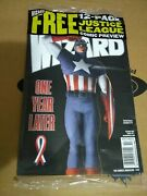 Wizard Comics Magazine 133 Oct 2002 Cover 1 Captain America Remembers 911 Sealed