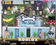 Roblox - Adopt Me Pet Store Deluxe Playset 40 Pieces Factory Sealed New