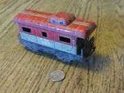 Rusty Marx Toy Nyc 20102 Caboose 5.75 X 1.75 X 3 Overall. G