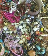 Huge Vintage Junk Drawer Estate Find Jewelry Lot Unsearched Vintage To Now 27lbs