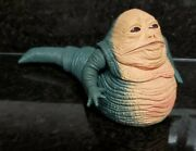 """Vintage 1997 Kenner Star Wars Jabba The Hutt Action Figure Head/tail Swing 9.5"""""""