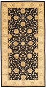 Vintage Hand-knotted Carpet 8and0390 X 16and0390 Traditional Oriental Wool Area Rug