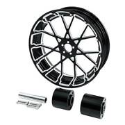 18and039and039 Rear Wheel Rim And Hub Fit For Harley Touring Road King Glide Non Abs 08-21