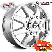 Fuel Off-road D536 Size 20x12 8x180 Offset -44mm Chrome Plated Set Of 4