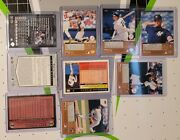 Lot Of 9 New York Yankees Baseball Cards. Tops And Upper Deck