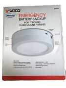 Satco Emergency Battery Backup For 7 Round Flush Mount Fixtures