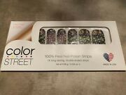 Color Street Nail Polish Strips Infinity Love 🦄 Rare Retired Vhtf Exclusive