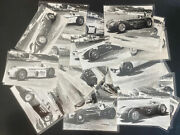 Mint Indy 500 Real Photo Postcard 33 Starters 1956 Indianapolis Motos Speedway