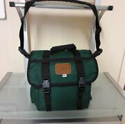 Lg. Abel Fly Fishing Hiking Outdoors Tackle Bag Forest Green