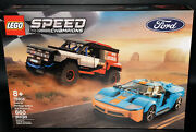 Lego Speed Champions Ford Gt Heritage Edition And Bronco R Brand New 76905
