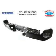 To1102241dsc New Replacement Rear Step Bumper Bar Fits 05-15 Toyota Tacoma