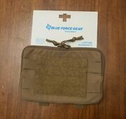 New Blue Force Gear Admin Pouch Coyote