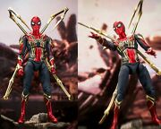 New Marvel Avengers Iron Spider-man Articulated Action Figures Collectable Toys