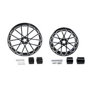 23 Front 18and039and039 Rear Wheel Rim W/ Hub Fit For Harley Road King Street Glide 08-21