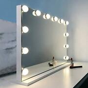 Vanity Mirror With Lights Hollywood Lighted Makeup Mirror With 12 Dimmable