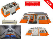 12 Person Large Outdoor Hiking Camping Portable Waterproof Instant Pop Up Tent