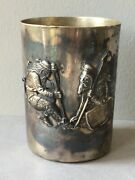 Antique Russian Silver Beaker By Timothy Hesketh St. Petersburg 1892