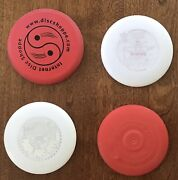 Mini Frisbee Disc Lot Of 4, Wham-o Is Rare Old Innova-champion And Little Flyer