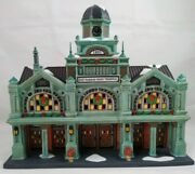Dept 56 East Harbor Ferry Terminal 59254 Christmas In The City 340 Of 15,000