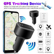 Gps Tracker Real Time Vehicle Tracking Device W/ 2usb Car Charger And Live Audio