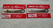 Vintage Novelty 1960's Jack The Ripper Sewing Seam Ripper Lot Of 2 Unopened