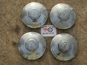 1934 1935 1936 1937 Federal Truck Delivery Truck Original Hubcaps Set Of 4