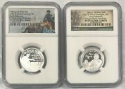 2021 S Silver Quarter Set 25c Ngc Pf 70 Ultra Cameo Early Releases R6