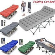 Portable Camping Bed Outdoor Military Cot Hiking Travel Sleeping Bed Comfortable