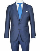 Caruso Suit In Dark Blue From Connoisseur Superfine 130's Wool / Regeur1690