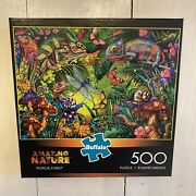 Buffalo Games - Tropical Forest - 500 Piece Jigsaw Puzzle