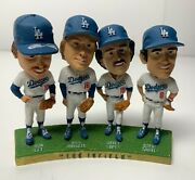 Signed Dodgers 81 Infield Ws Bobblehead Garvey Cey Lopes Russell Psa 8a57839