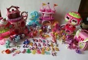 My Little Pony Ponyville Playsets And Ponies Huge Xmas Toy Lot