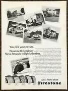 1977 Firestone Rv Tires Print Ad Pick A Picture Engineer Steve Will Pick Tires