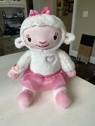 Doc Mcstuffins Doctor Take Care Of Me Lambie Interactive Toy Plush