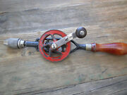 Millers Falls Egg Beater Style Hand Drill No. 85