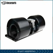 Hvac Heater Blower Motor With Fan Cage For 24v Heavy Duty Bus Front 006-a40-22