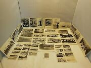 27 Rppc Postcards And 20 Mini Cards U.s. Naval Training Station Great Lakes Ill