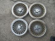 Set Of 4 Chevy Caprice Hubcap 1977 Andndash 1984 Wheel Cover Chevrolet Classic