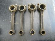 Set Of 4 1928 1931 Model A Ford Engine Piston Rods