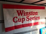 Original Nascar Winston Cup Series 1981 Banner Race Used Track Banner