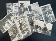 10 Piece Complete Set Germany Hitler Youth Hj Visiting Japan Rppc Postcards