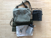Post Wwii Swiss Army Canteen M32 Mess Kit Spork Bread Bag Ord. 49