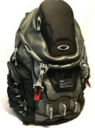 Kitchen Sink Backpack Black W/ Grey And Red Trim Tactical Field Gear Pack