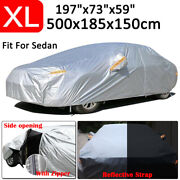 Xl Waterproof Full Car Cover Outdoor Rain Resistant Protector For Toyota Camry