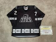 Providence Bruins Game Worn Used Ccm Specialty Authentic 17/18 Star Wars Jersey