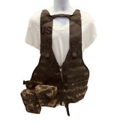 Us Military Army Tactical Load Carrier Vest W/pouches