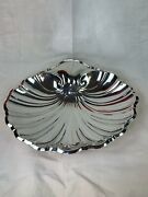 Reed And Barton 1941 Sterling Silver 12 Footed Shell Bowl / Dish, 616 Grams 843