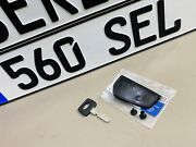 Mercedes Benz W126 Blank Master Key And Black Classic Cover 1088900661-1267605406